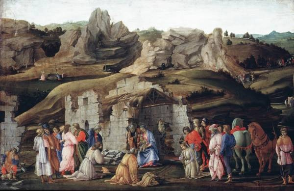 Lippi Filippino The Adoration of the Magi
